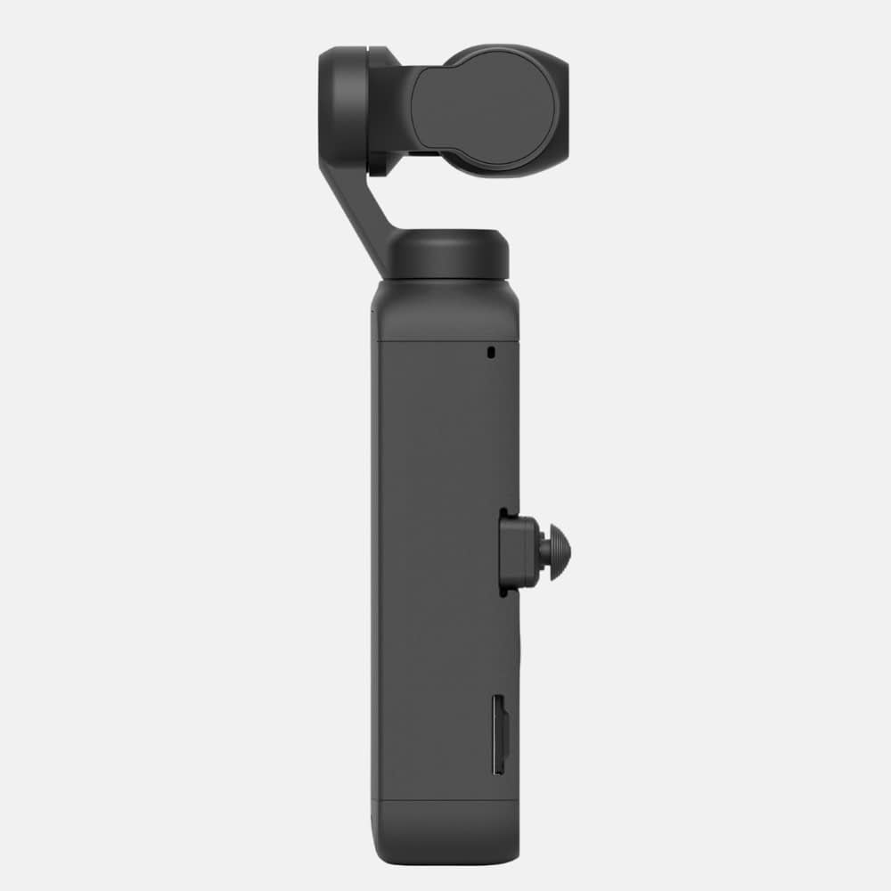 4k video camera, DJI Pocket 2 side - Handheld 3-Axis Gimbal Stabiliser with 4K Camera, 1/1.7 inch CMOS, 64MP Photo, Pocket-Sized, ActiveTrack 3.0, Glamour Effects, YouTube Video Vlog, for Android and iPhone, 4k action camera