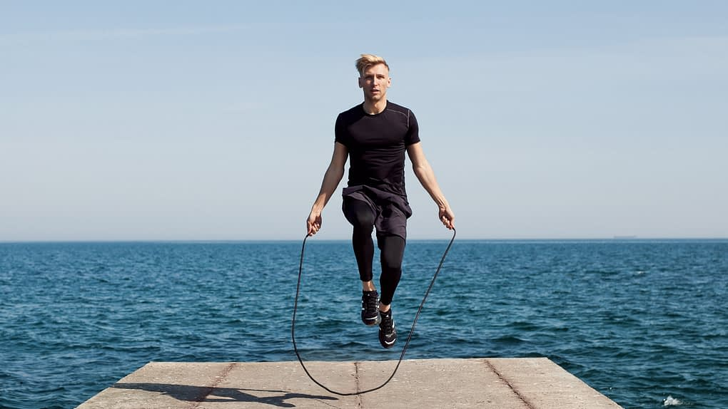 speed rope, speed rope workouts by a MXT fitness athlete