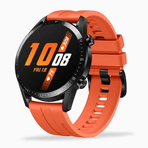 HUAWEI-Watch-GT2-Sport Edition-Orange-Side
