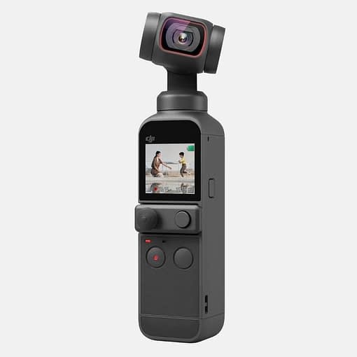 4k video camera, DJI pocket 2, DJI Pocket 2 - Handheld 3-Axis Gimbal Stabiliser with 4K Camera, 1/1.7 inch CMOS, 64MP Photo, Pocket-Sized, ActiveTrack 3.0, Glamour Effects, YouTube Video Vlog, for Android and iPhone, Black